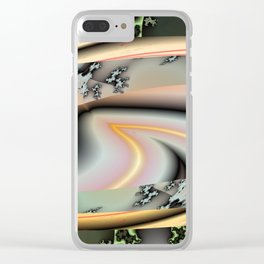 """"""" Life Goes On """" Clear iPhone Case"""
