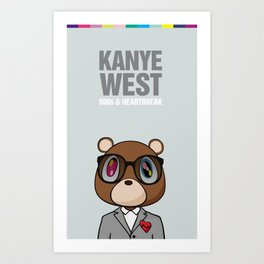 808s & Heartbreak Art Print