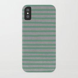 Concrete & Stripes iPhone Case