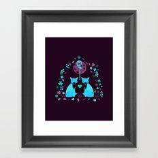 Fox Archway Framed Art Print