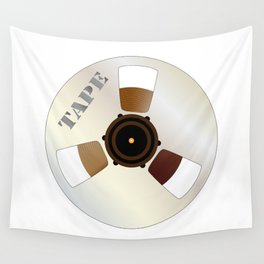 Tape Spool Wall Tapestry