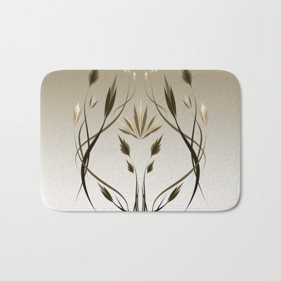 floral emblem 1 Bath Mat