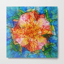 Flower III Metal Print