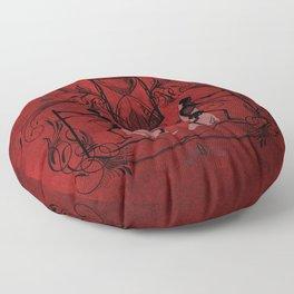 Memento Mori Floor Pillow