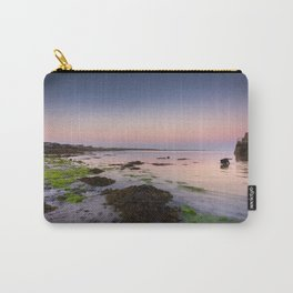 Dog chasing fish in Barna, Ireland Carry-All Pouch