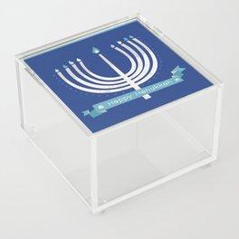 Happy Hanukkah! Acrylic Box