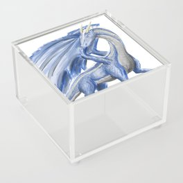 Blue Dragon Acrylic Box