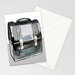 Digital Retro Relic Collection Vintage Lunchbox Stationery Cards