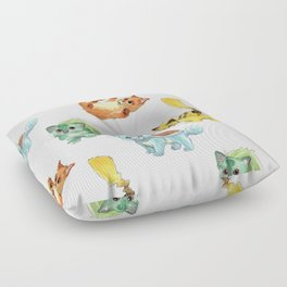 Starter Pokekittens Team Floor Pillow