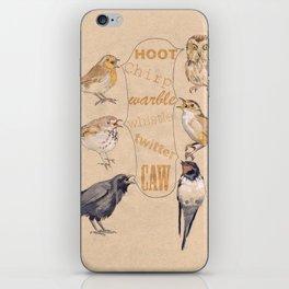 Bird Sounds iPhone Skin