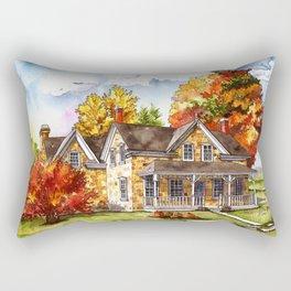 October on the Farm Rectangular Pillow