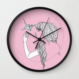 Papercuts Wall Clock