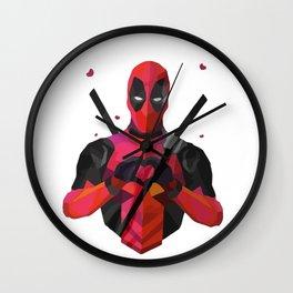 Deadpooll Fan Wall Clock