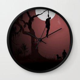 Hanged Dude Wall Clock