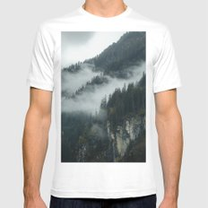 The great beyond MEDIUM White Mens Fitted Tee