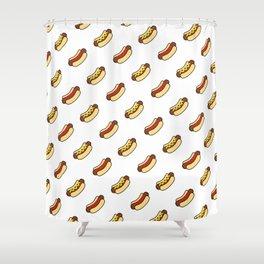 Hot Diggity Dog Shower Curtain