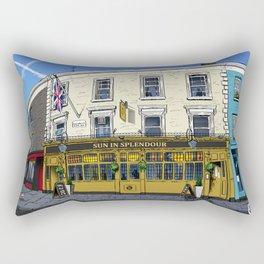 London Pub Rectangular Pillow