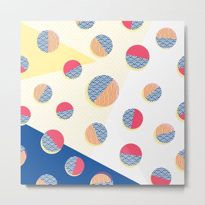 Japanese Patterns 01 Metal Print