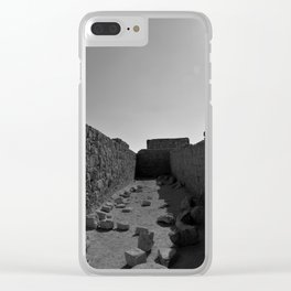 Masada Clear iPhone Case