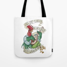 Alan A Dale - Oo de Lally Golly What a Day Roster Tote Bag