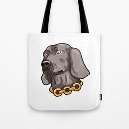 Weimaraner Weim Grey Ghost Doggie Dog Puppy Gift Tote Bag
