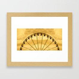 Carnival Cryptography Framed Art Print