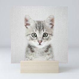 Kitten - Colorful Mini Art Print