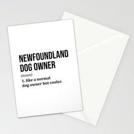 Newfoundland Dog Funny Stationery Cards