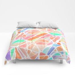 Pastello Peach Comforters