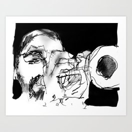 ibrahim malouf Art Print