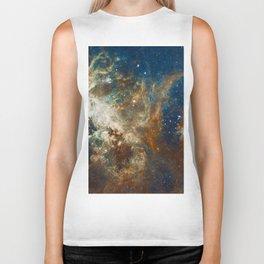 Tarantula Nebula Galaxy Space Photo Biker Tank