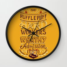 Hard Workers Wall Clock