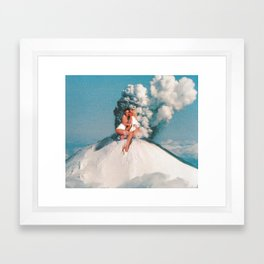 Eruptions 2 Framed Art Print