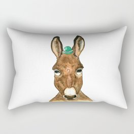 Ane au chapeau Rectangular Pillow