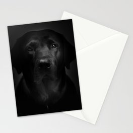 I met a girl (Black and white version) Stationery Cards