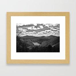 The Smoky Mountains Framed Art Print