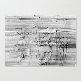 Grey city lights Canvas Print