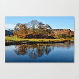 Brathay Reflections Canvas Print