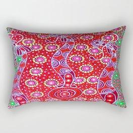 Australian Aboriginal Art - Christmas 2 Rectangular Pillow