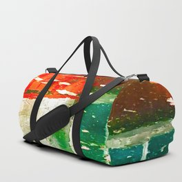 City Aflame and Drowning Duffle Bag