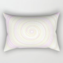 Re-Created Spin Painting No. 49 by Robert S. Lee Rectangular Pillow