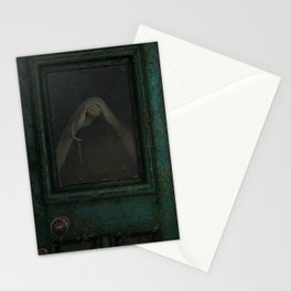 Yearning green Stationery Cards