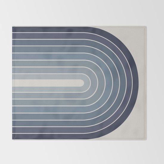 Gradient Arch - Blue Tones II by midcenturymodern