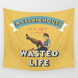 Do not waste your life Wall Tapestry