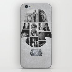 A New Hope COLLAGE variation iPhone & iPod Skin