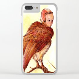 Harpy 2 Clear iPhone Case