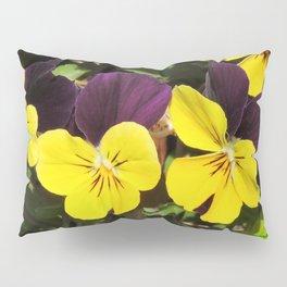 The Pansies at the Corner Pillow Sham