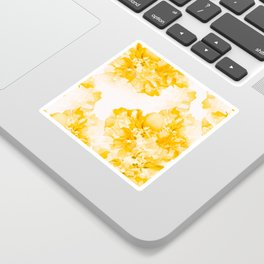 Beautiful Peony Flowers White Background #decor #society6 #buyart Sticker