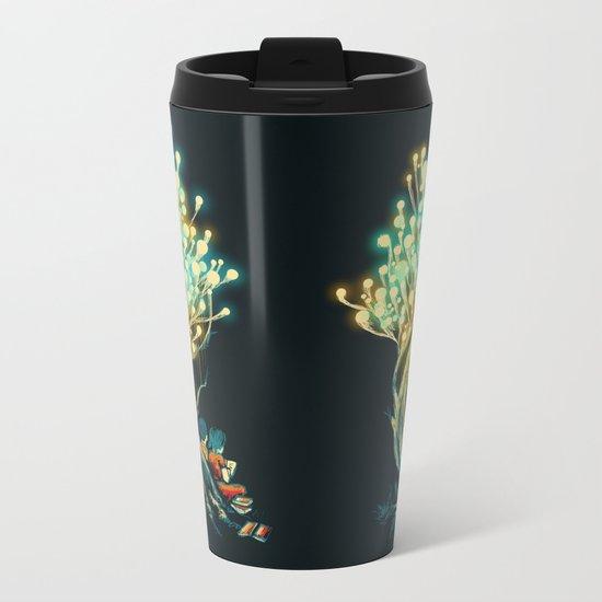 ElectriciTree Metal Travel Mug