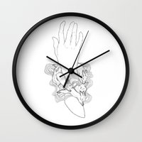 run Wall Clocks featuring Run by Hannah Gordon